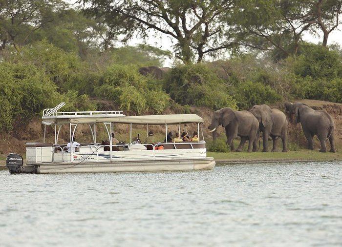 Launch Cruise or boat trip in Uganda, Queen Elizabeth