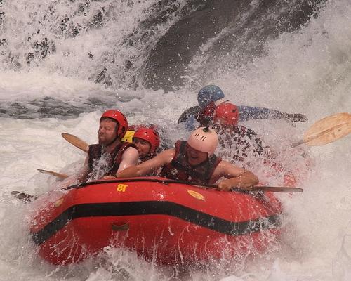 rafting uganda