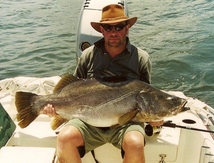 Fishing on Murchison Falls Uganda