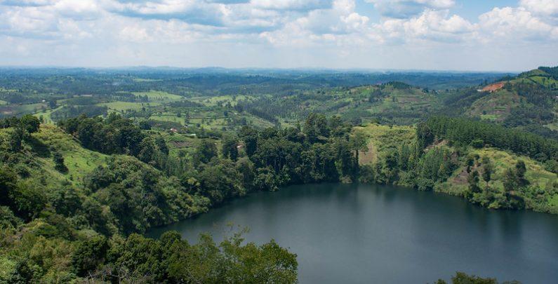 crater lakes uganda
